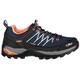 CMP Campagnolo W's Rigel Low WP Trekking Shoes Black Blue-Giada-Peach